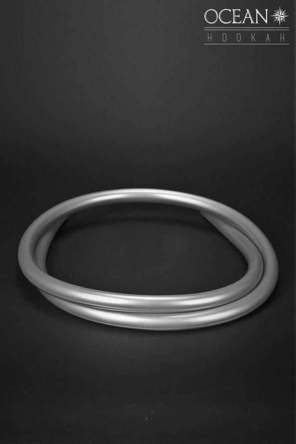 Silikonschlauch Silber
