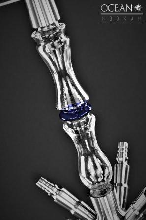R38 Glasrauchsäule Blau