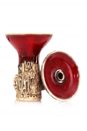 Werkbund Phunnel Spot Glazed Red