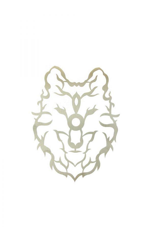 Kohleteller Wolf