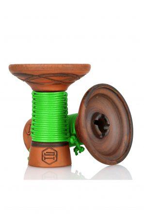Japona Hookah Mummy Bowl Green