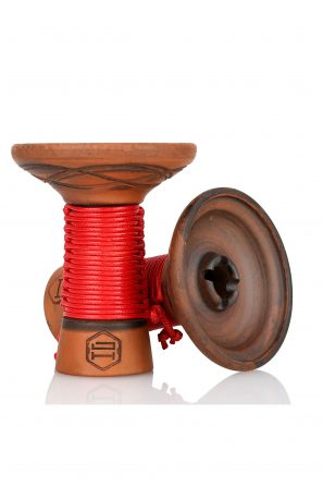 Japona Hookah Mummy Bowl Red