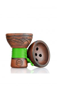 Turkish Bowl Green Japona Hookah