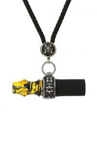 Japona Hookah Samurai Cord Mouth Tip Yellow