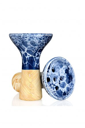 Moon Killer Bowl Marble Blue