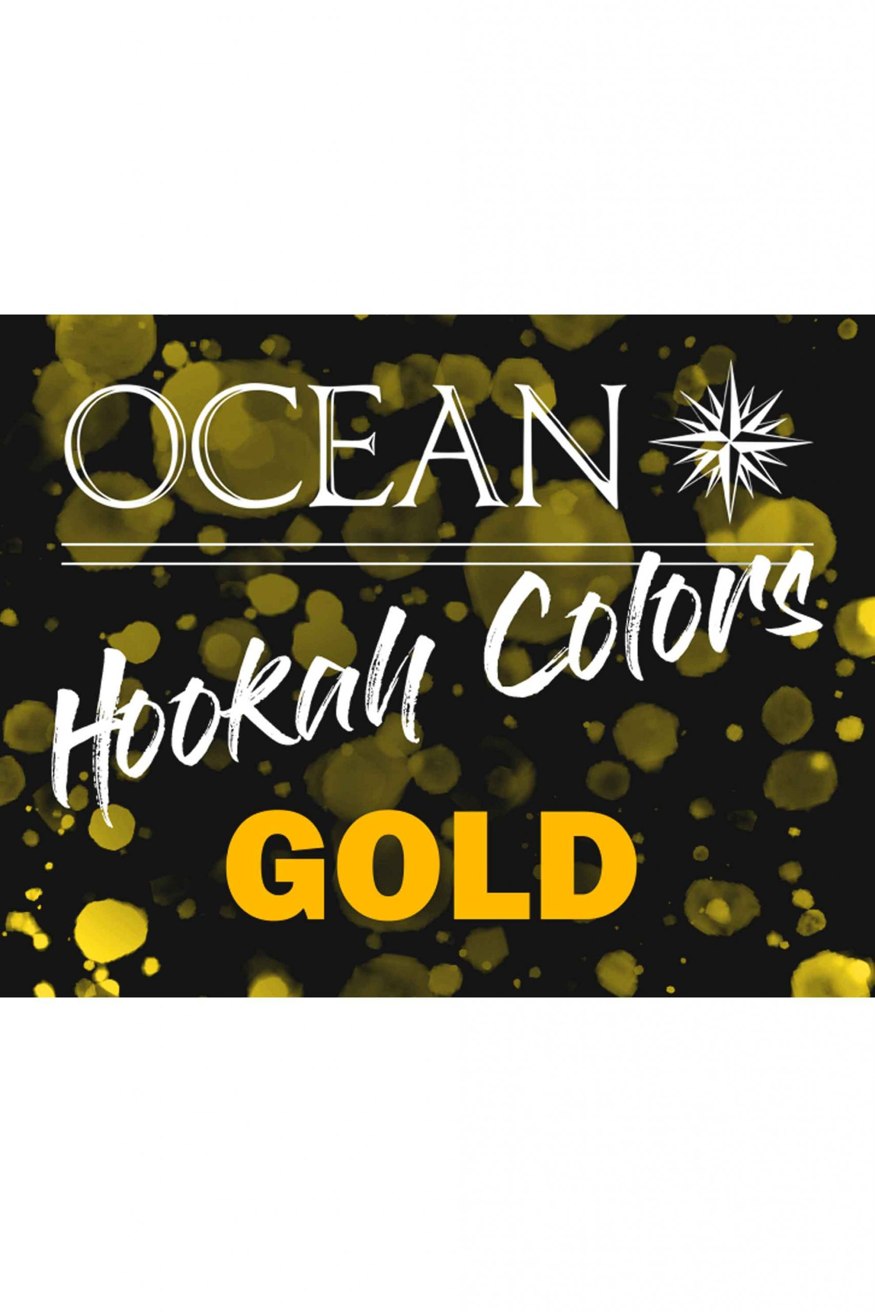 Hookah Colors - Gold