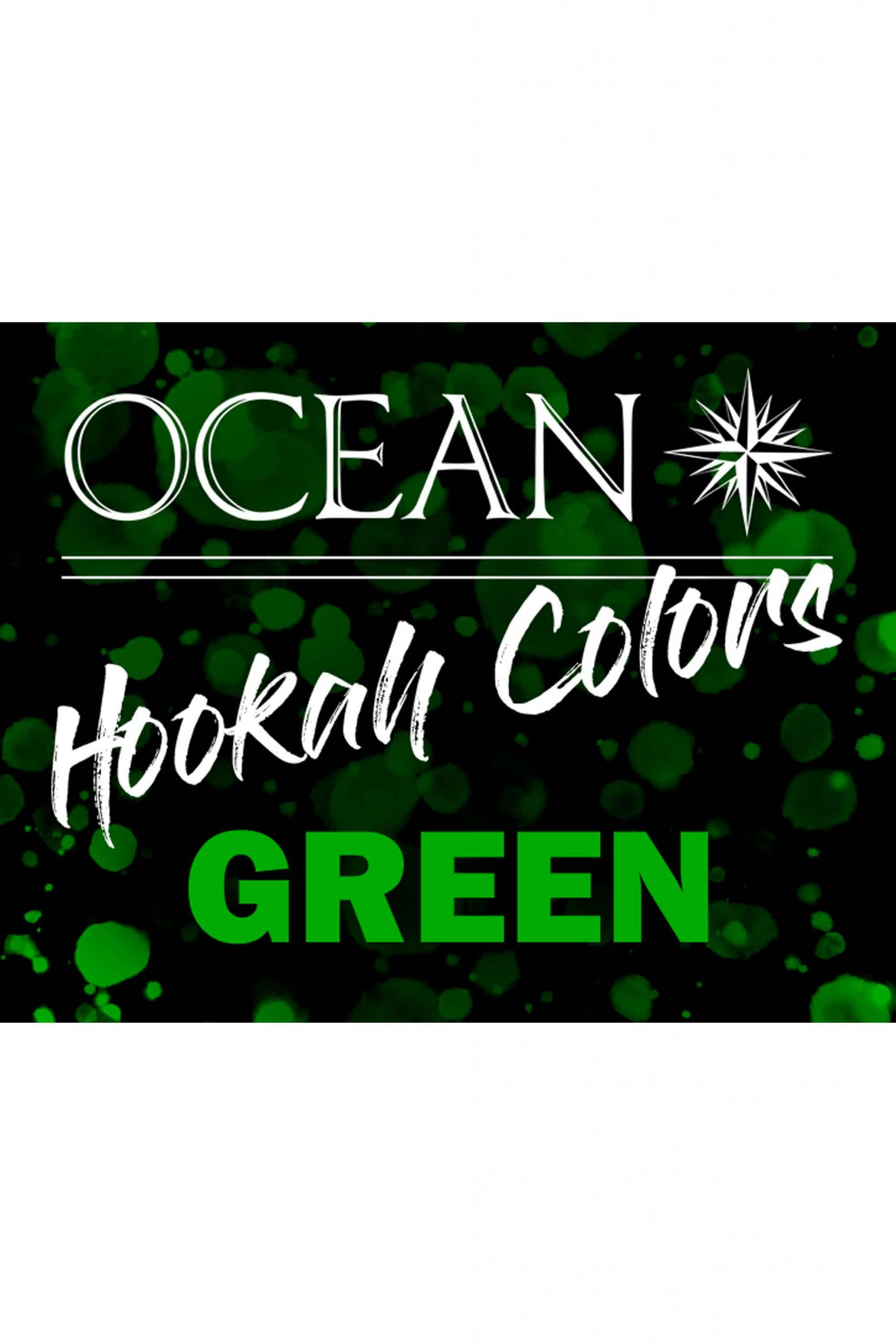 OCEAN Hookah Colors - Green 50g