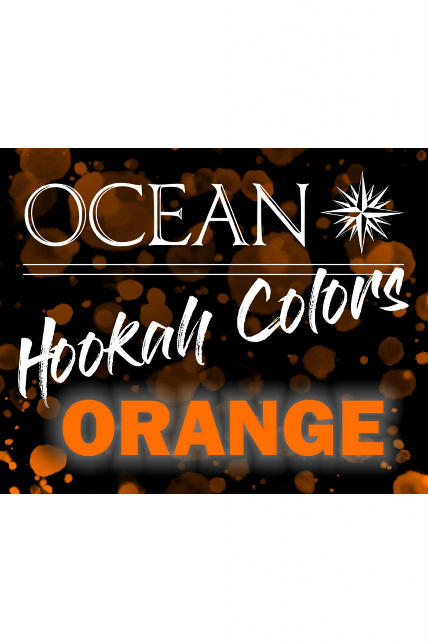 Hookah Colors Orange