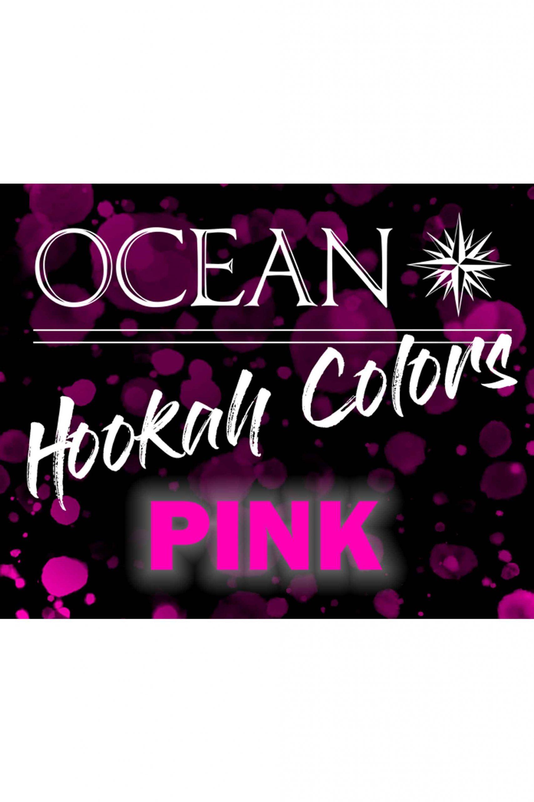 OCEAN Hookah Colors - Pink 50g