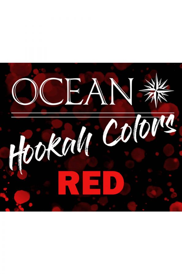 Ocean Hookah Colors - Red 50g