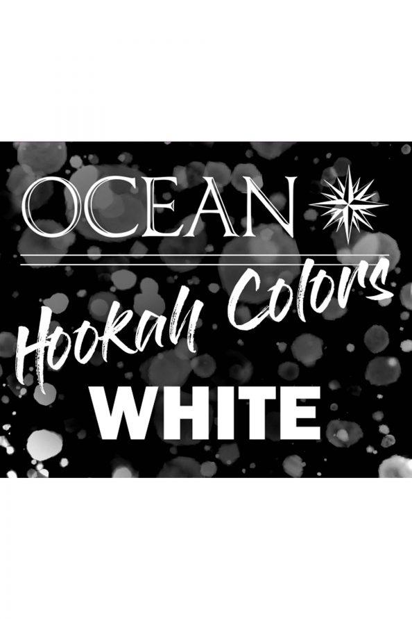 Ocean Hookah Colors 50g - WHITE