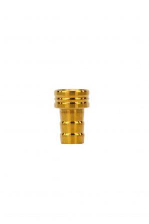 Kaif-Einzelteil-Mundstück-Unten-Gold