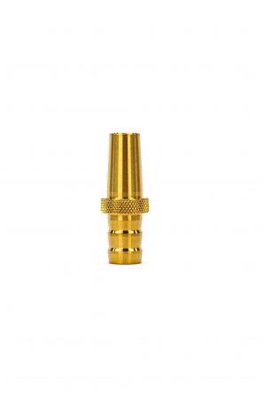 Kaif-Silikonschlauch-Adapter-Gold