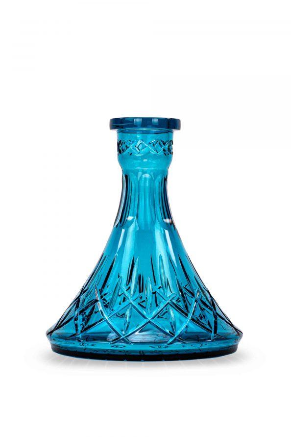 Tradi Bowl - Cone Diamond Cut - Aquamarine